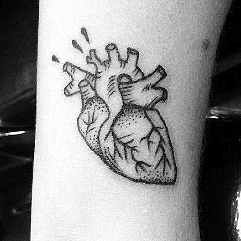 Tatuagens De Coração: 65 Inspirações Que Vão Te Deixar