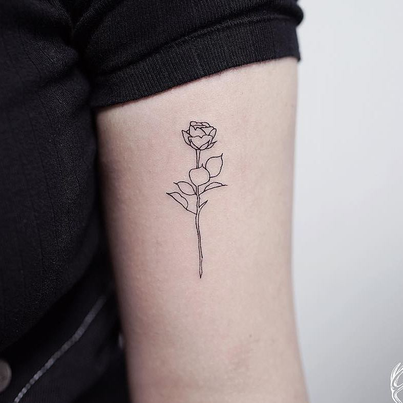 Tatuagens Pequenas Flor