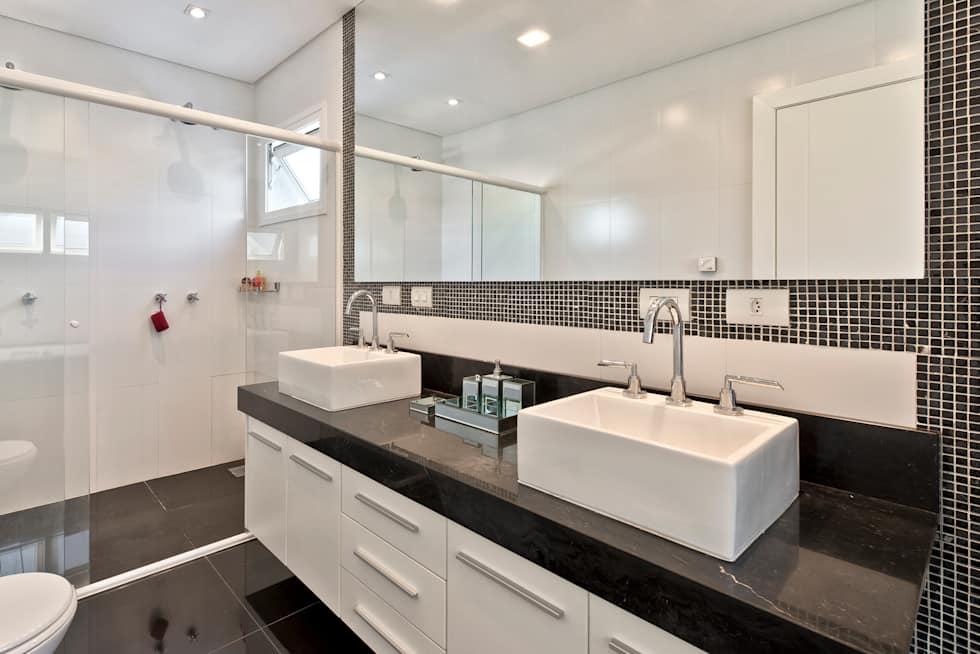 Banheiros Decorados Com Duas Cubas : Banheiros decorados ideias elegantes tend?ncias