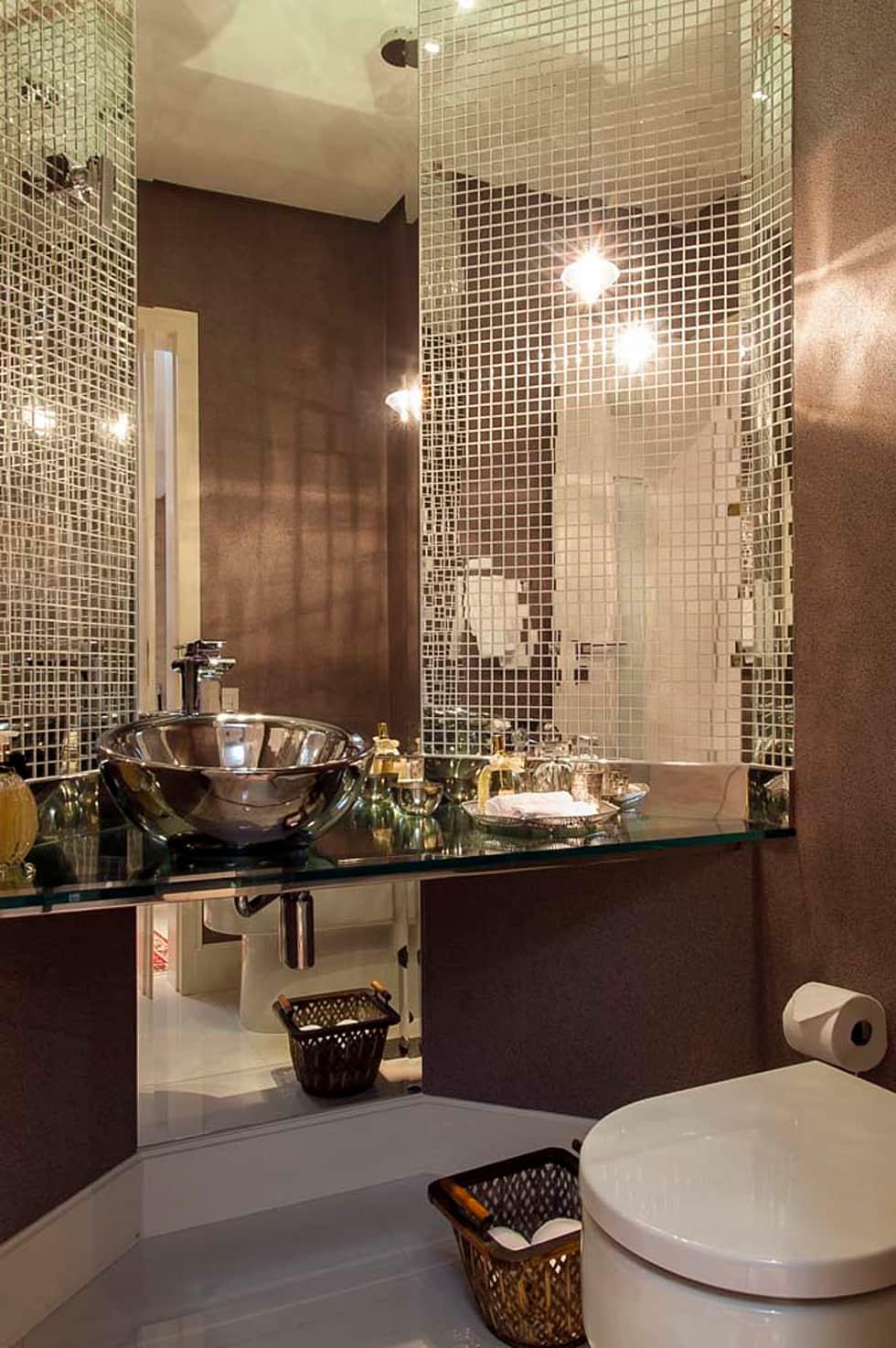 Banheiros Decorados 100 Ideias Elegantes Tend 234 Ncias 2018