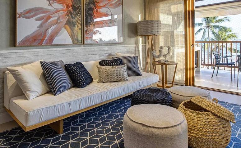 70 lindas salas decoradas para voc se inspirar fotos for Sala de estar funcional