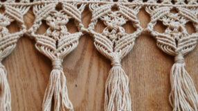 Macramê: aprenda como fazer e crie peças lindas