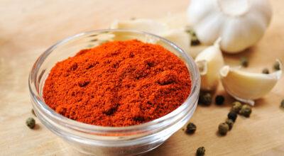 Páprica é aliada da saúde e ingrediente versátil na cozinha