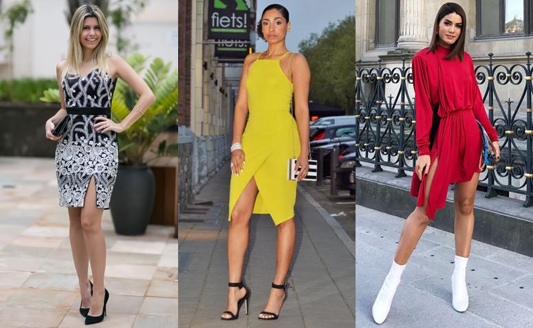 Vestido de fenda  saiba como usar a peça para compor um look poderoso b2b9b0d5b0