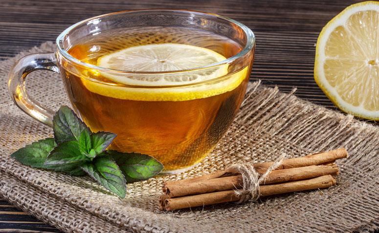 chá de mel e limão para tosse