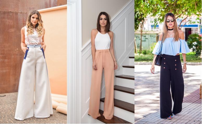 Pantalona: Como incluir essa peça atemporal em seus looks