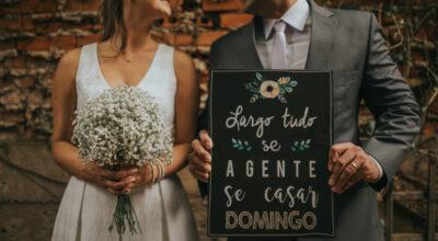 Plaquinhas para casamento: 110 ideias criativas que dão personalidade ao grande dia