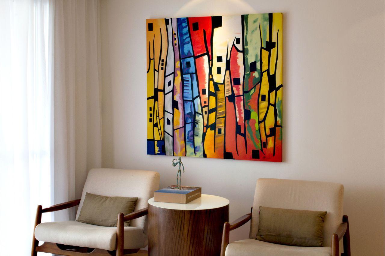 Quadros Para A Sala 70 Inspira Es E Dicas Para Incrementar O Ambiente -> Quadro Abstrato Pra Sala Barato