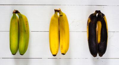 Em qual estágio devo consumir a banana? Qual é mais saudável?