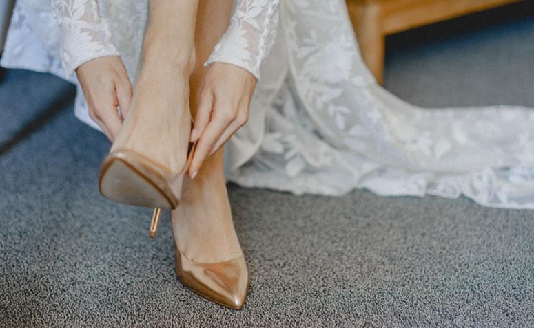 0c266ef43c Sapato de noiva  80 inspirações e opções de modelos para comprar