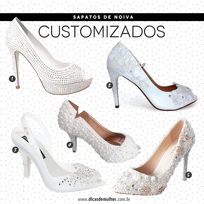 5190d7824 Sapato de noiva: 80 inspirações e opções de modelos para comprar