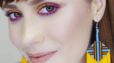 Sombra colorida: 50 inspirações para você apostar nessa tendência