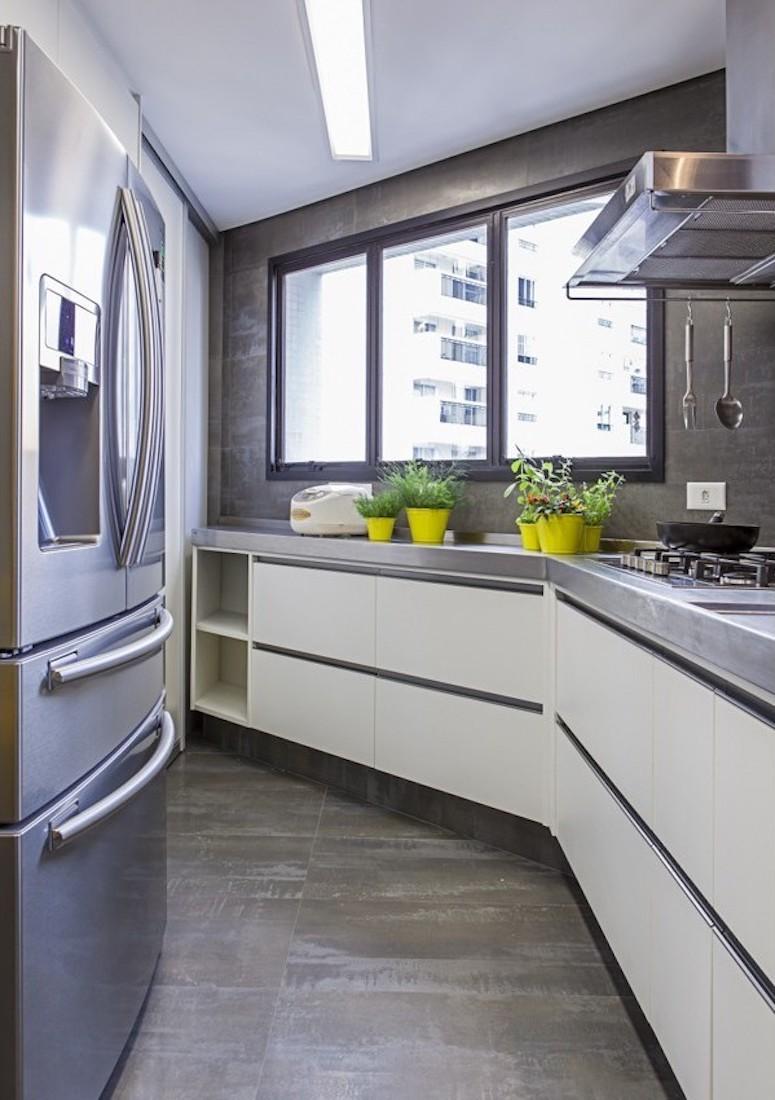 Cozinhas Pequenas Que S O Lindas E Funcionais Folha De Maring