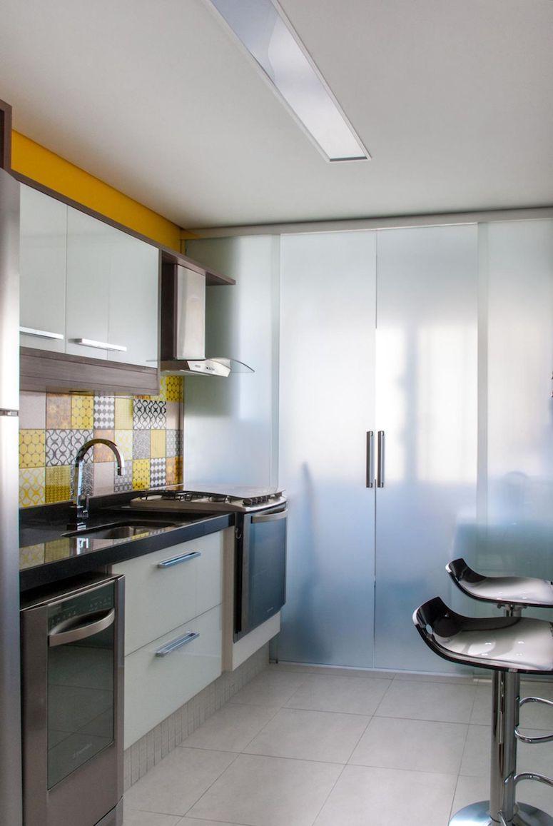 Cozinha Americana Pequena Com Lavanderia Simple Cozinha Americana