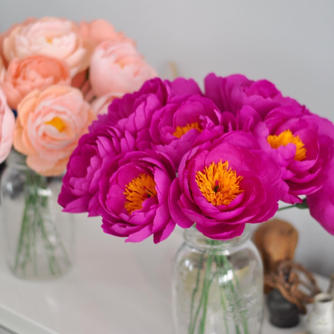 Flores De Papel 5 Modelos Passo A Passo 30 Ideias Para Inspirar