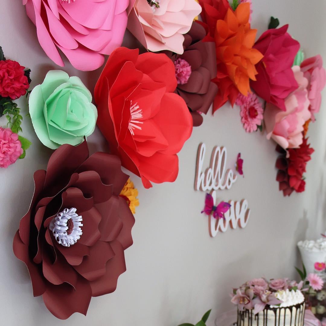 Flores De Papel 5 Modelos Passo A Passo 30 Ideias Para