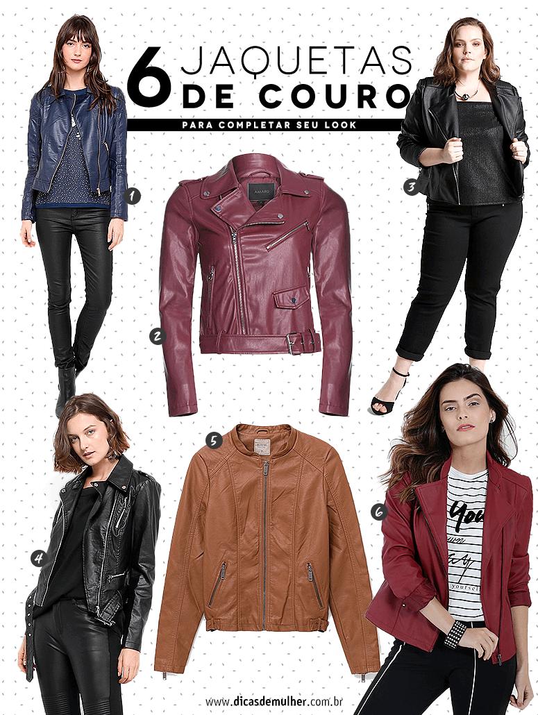jaqueta de couro para comprar
