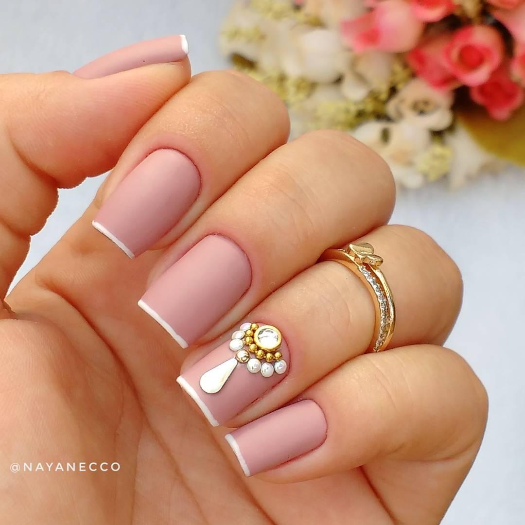 Unhas decoradas mais de 300 FOTOS E V u00cdDEOS de nail arts para voc u00ea -> Decoraçao De Unhas Com Pedras
