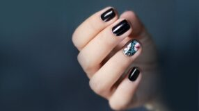 45 unhas decoradas pretas que provam que essa cor é sempre uma boa ideia