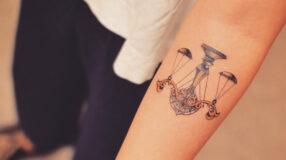 22 tatuagens para quem é do signo de libra
