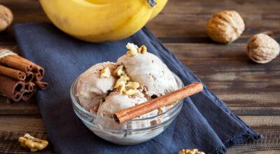 25 receitas de sorvete de banana que vão refrescar seus dias
