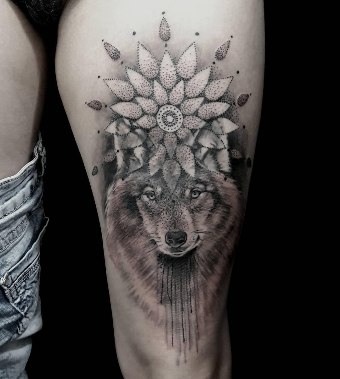 Tatuagem De Lobo 75 Ideias Incríveis A 62 é Muito Criativa