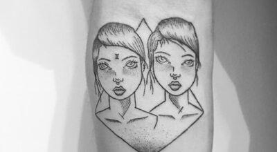 30 tatuagens para quem é do signo de gêmeos