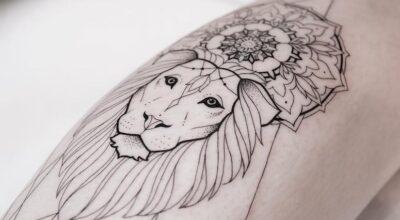 25 tatuagens para quem é do signo de leão