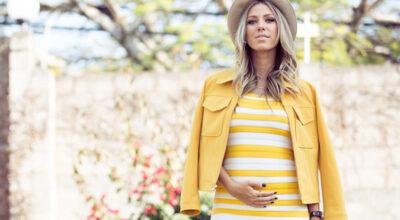 Moda gestante: 85 looks apaixonantes para as futuras mamães