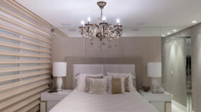 Lustres para o quarto: 90 inspirações para transformar o visual do seu ambiente
