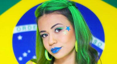Maquiagem para a Copa: 25 formas criativas para torcer pelo Brasil