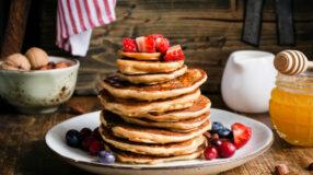 6 receitas de panqueca americana para um café da manhã maravilhoso