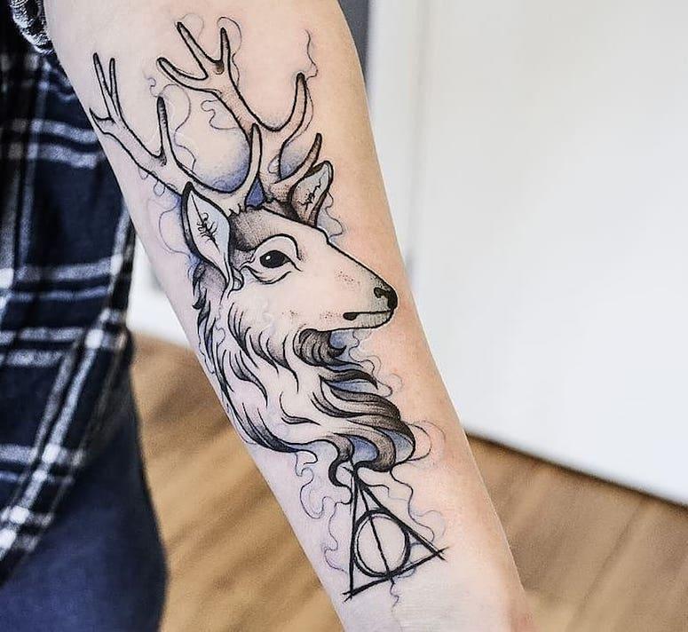 Tatuagem Harry Potter 80 Tattoos Para Eternizar Seu Amor