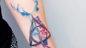 Tatuagem Harry Potter: 80 tattoos para eternizar seu amor pela saga