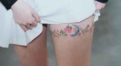 Tatuagem na coxa: 120 ideias para você pensar na sua próxima tattoo