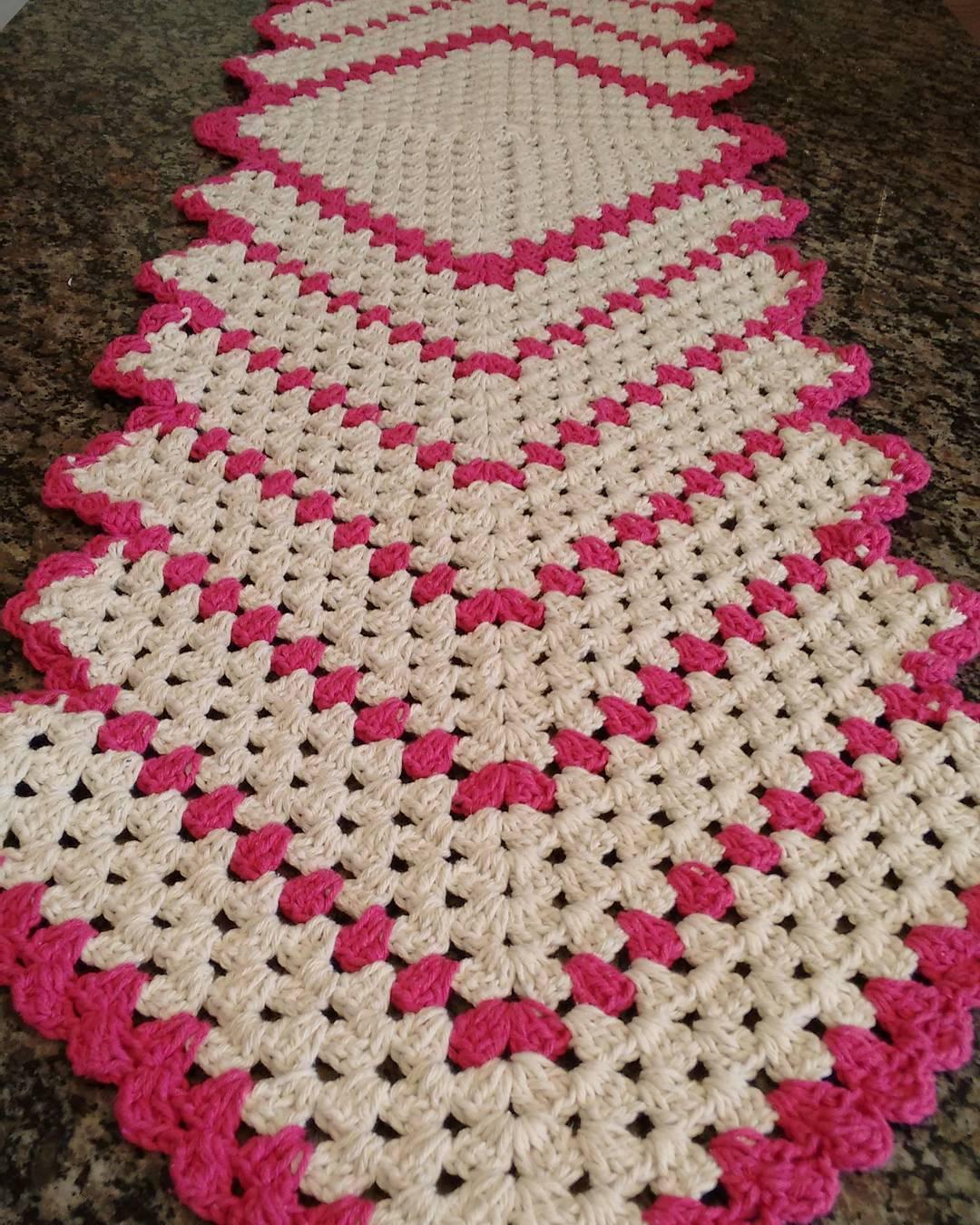 Caminho De Mesa De Crochê 35 Peças Lindas E Modelos Passo A