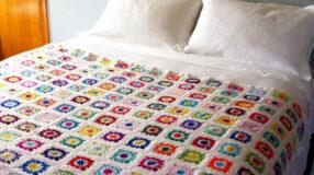 Colcha de crochê: 60 ideias e tutorais para você fazer a sua