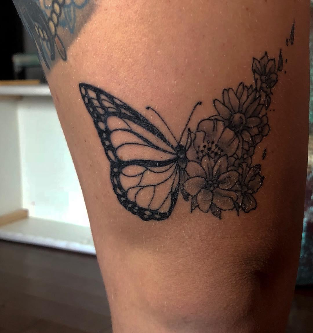 Tatuagem De Borboleta 200 Ideias Para Ficar Com Vontade De