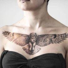 Tatuagem de coruja: 100 inspirações incríveis que vão ganhar o seu coração