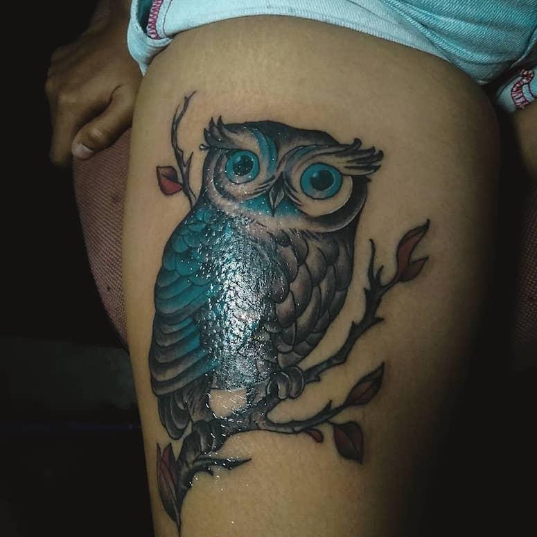 Tatuagem De Coruja 100 Inspiracoes Incriveis Que Vao Ganhar O Seu