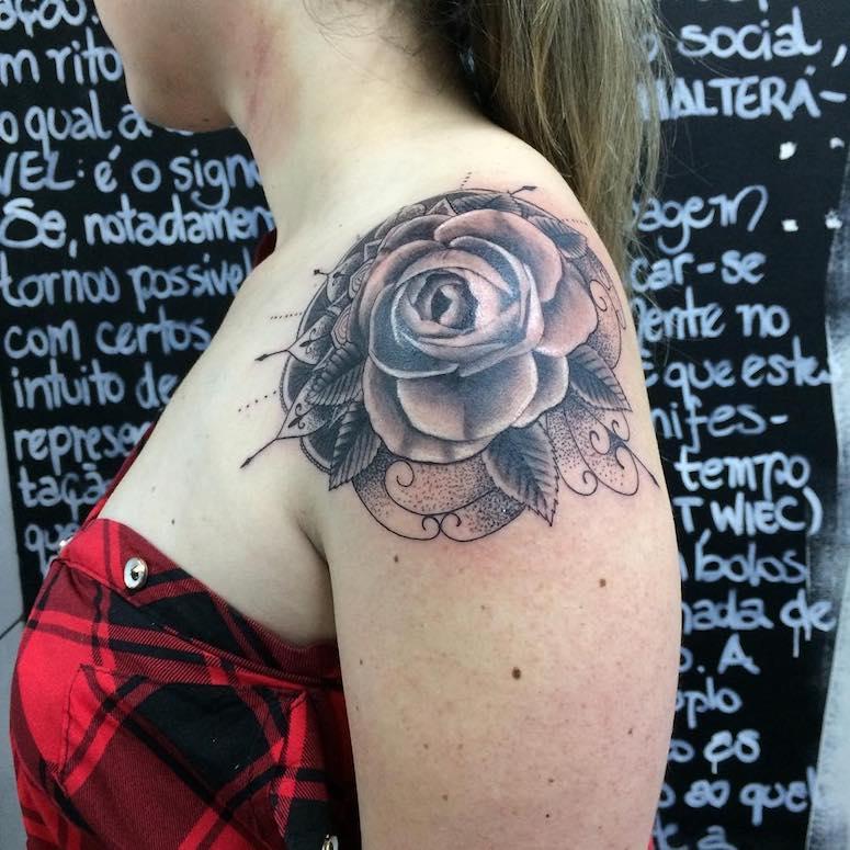 Tatuagem De Rosas 123 Ideias Incríveis Para Você Se Inspirar