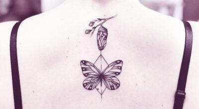 Tatuagem feminina nas costas: 200 ideias para você se apaixonar