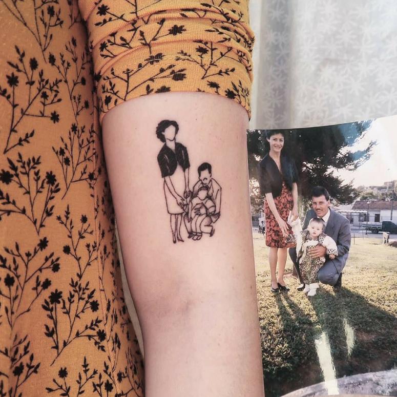Fotos De Tatuagem De Pai E Filha: Geradas Em Meu Corpo Meus Sonhos E Minha Alma Filhas Vocs