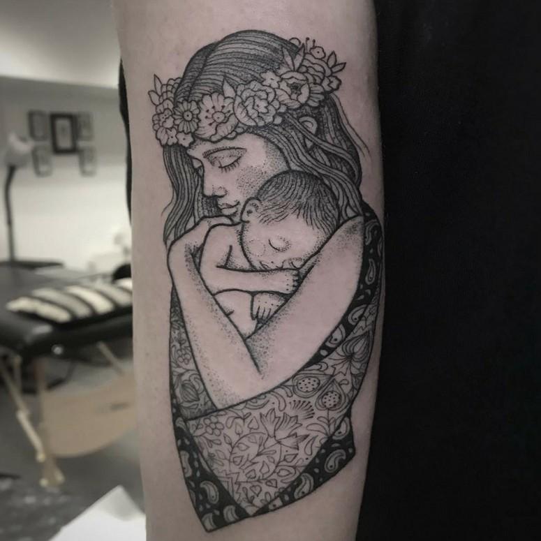 Tatuagem Para Filhos 90 Ideias Para Gravar Seu Amor De Mãe Na Pele