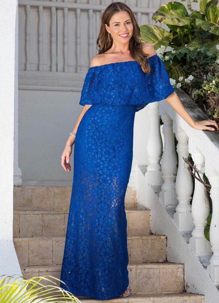 dfd54e6f4 Vestido azul royal: 60 fotos com a peça para abraçar essa tendência