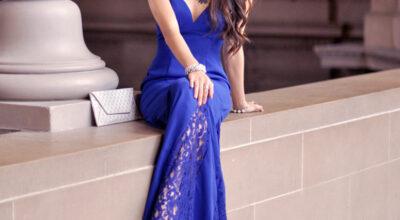 Vestido azul royal: 60 fotos com a peça para abraçar essa tendência