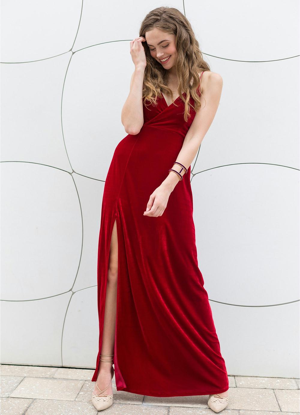 e6d7d6505 Vestido marsala: 70 modelos para você arrasar com a cor que é tendência