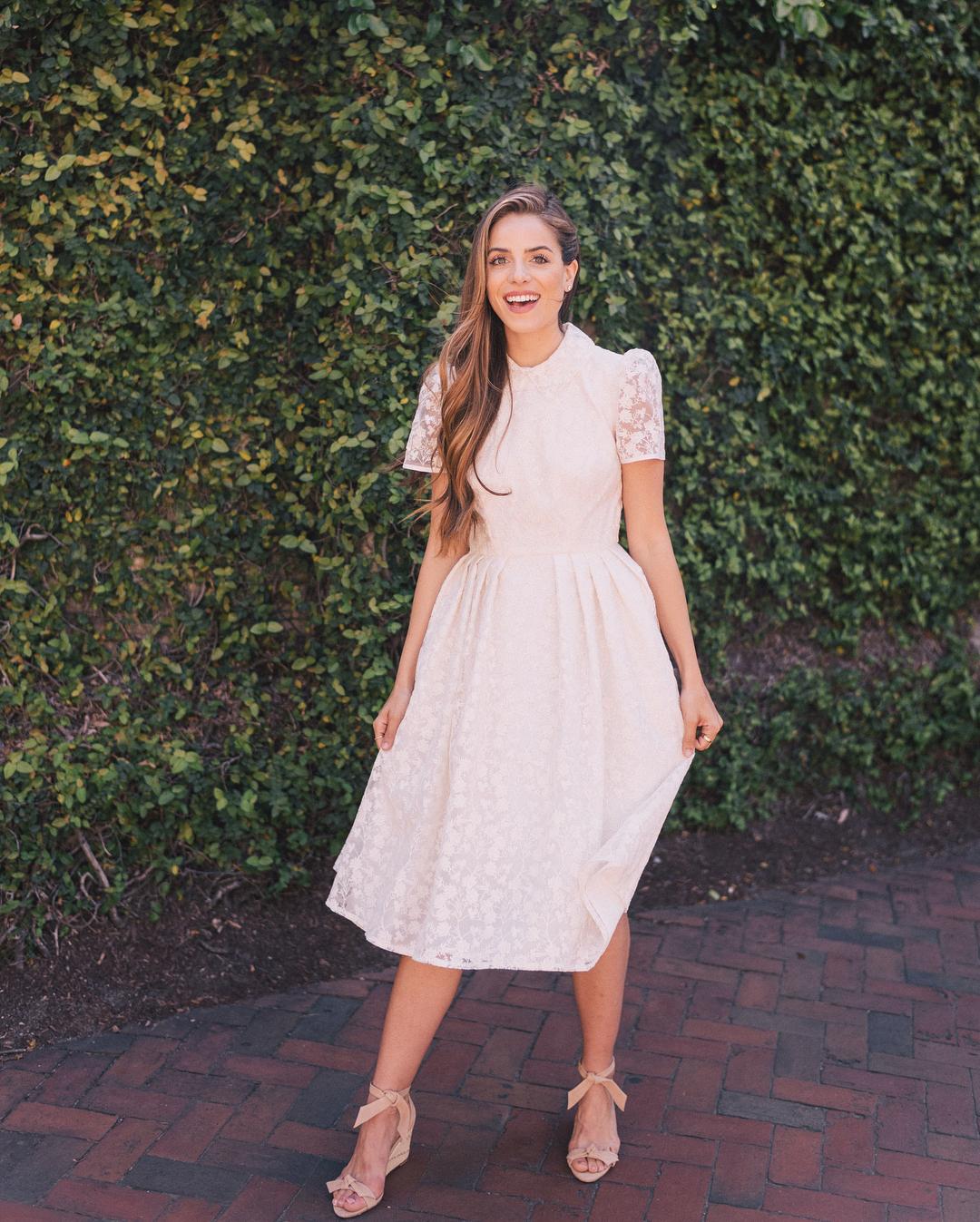 8bf546922 Vestido para casamento civil: 80 modelos lindos para esse dia especial