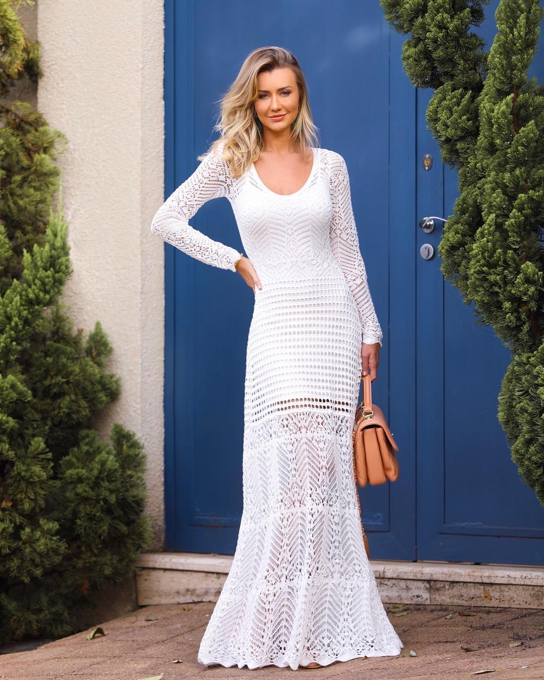 daab17ae5a Vestido para casamento civil  80 modelos lindos para esse dia especial