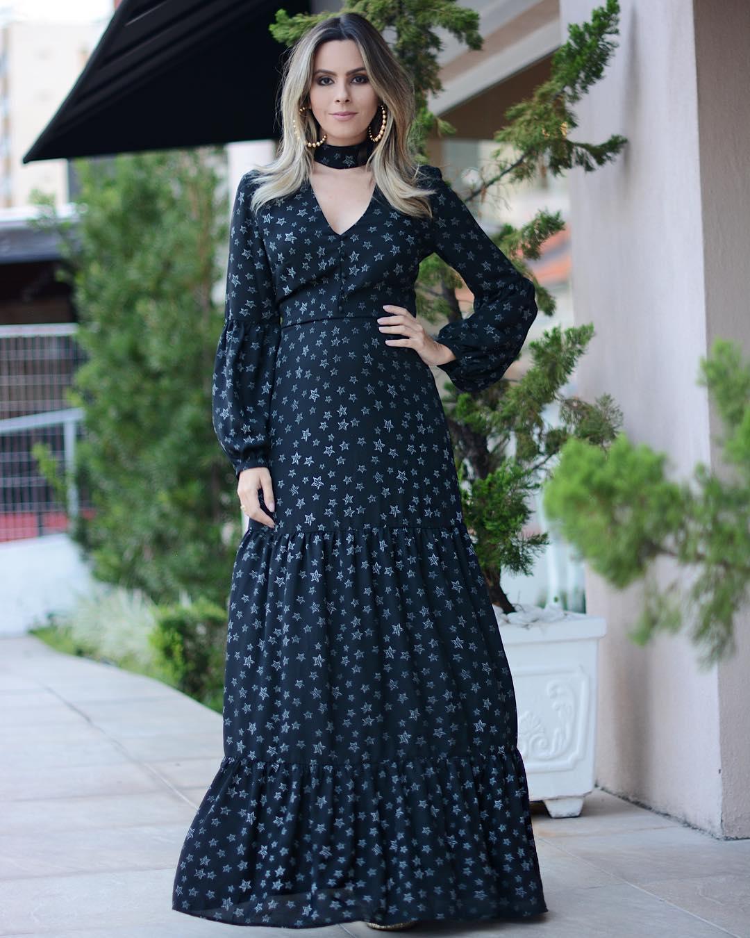 08a15f3d0f Vestidos longos simples  80 modelos para você usar em diversas ocasiões